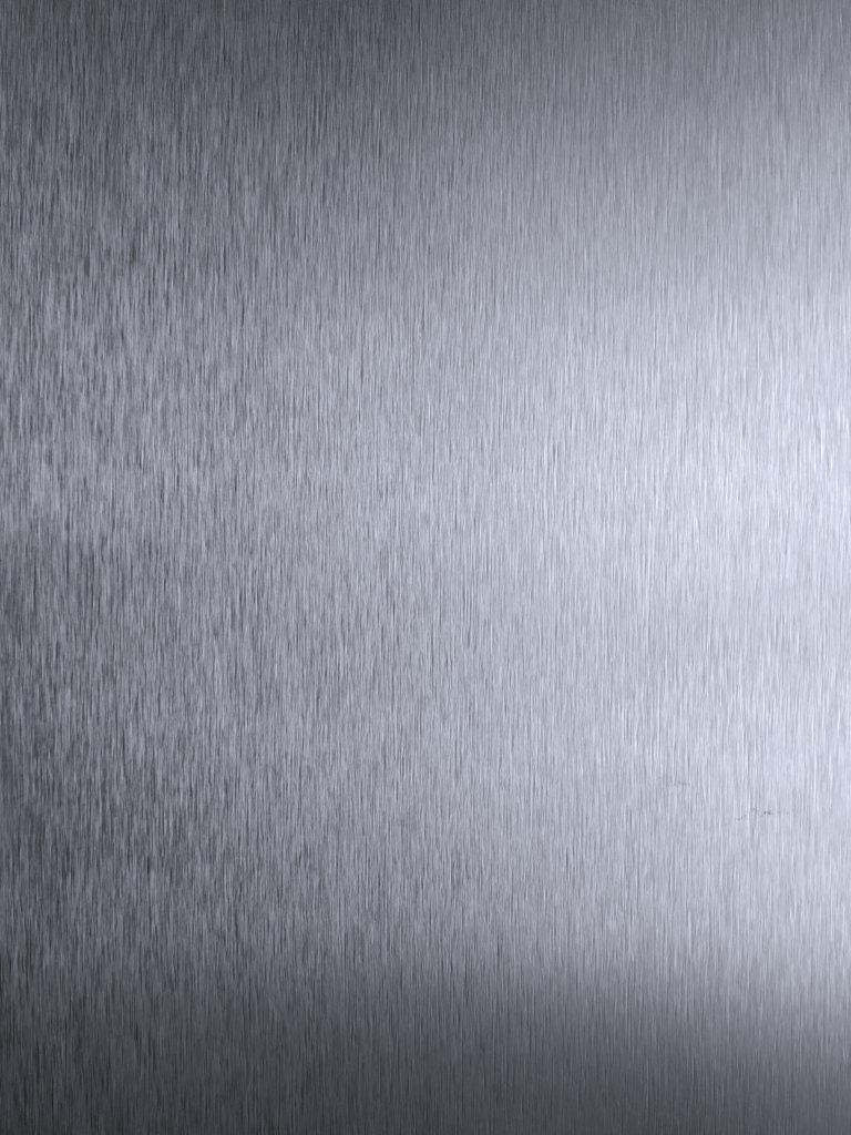 Tekstura Dibondu Szczotkowanego Srebrnego
