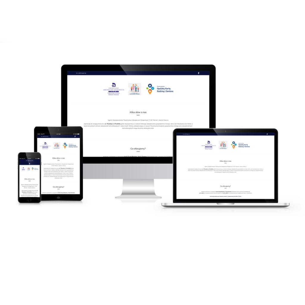 Strona Internetowa dla agenta ubezpieczeniowego w Prudniku – TUW Prudnik
